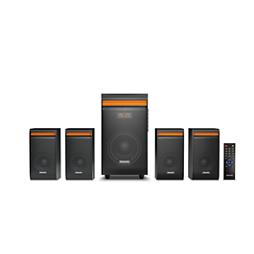 Multimedia speaker 4.1