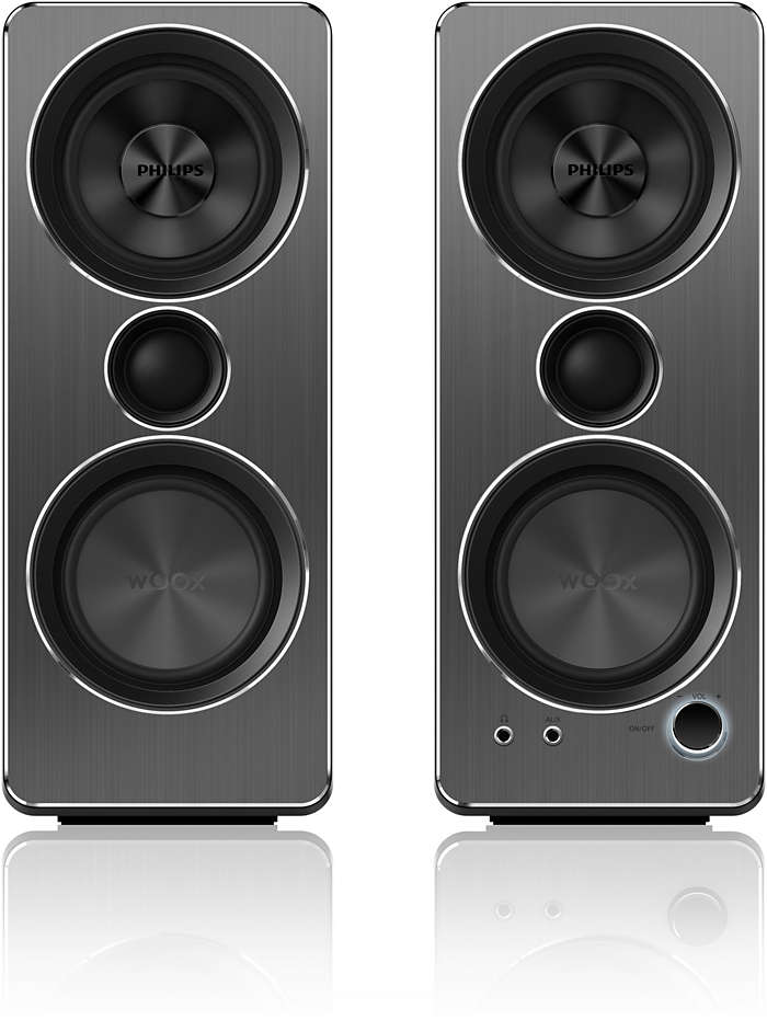 PC speaker with high fidelity sound