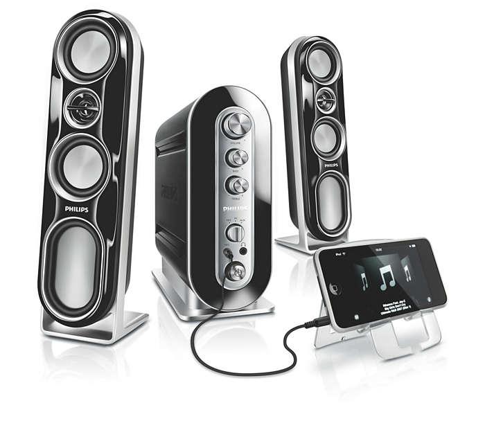 Verbluffend geluid, optimaal luisterplezier