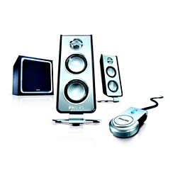 Multimedia Speakers 2.1