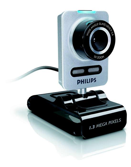 Del med webcam