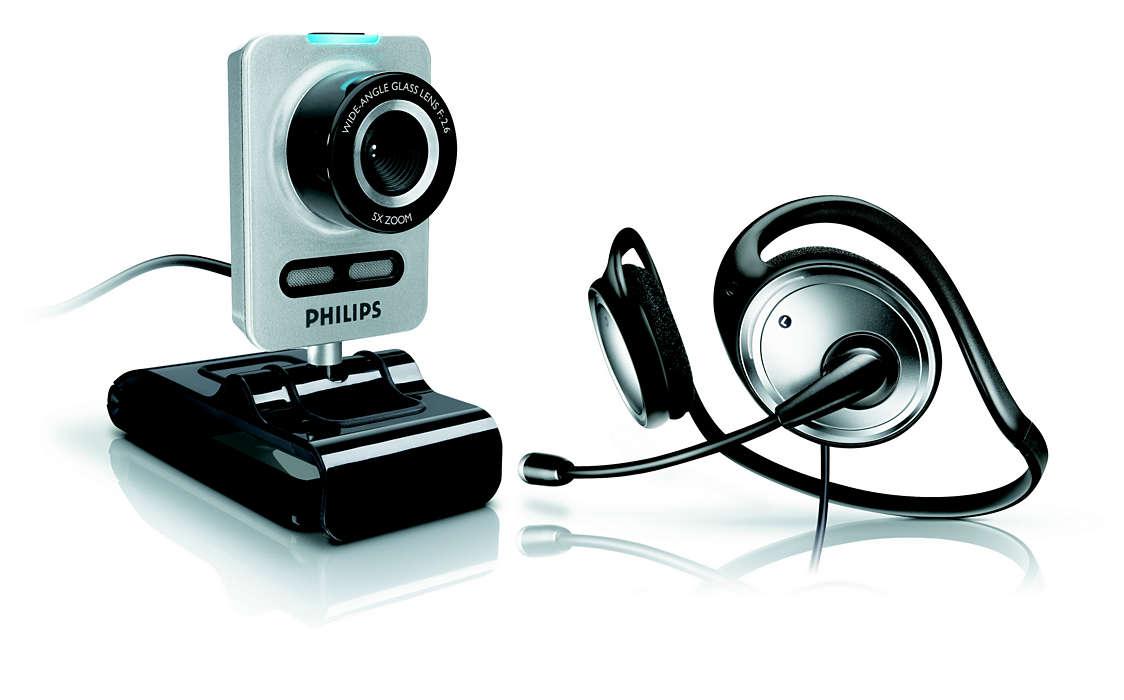 Dele web-kamera