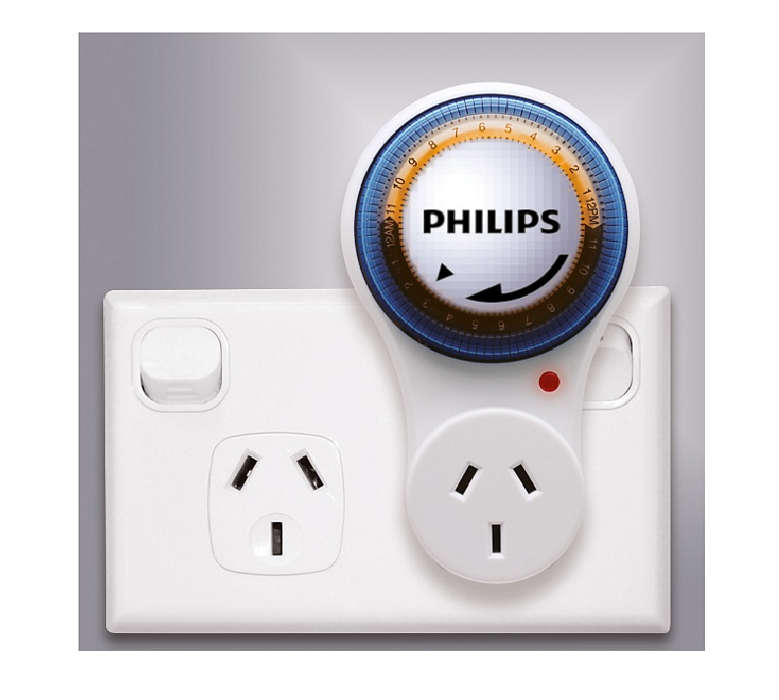 24 hours programmable outlet timer