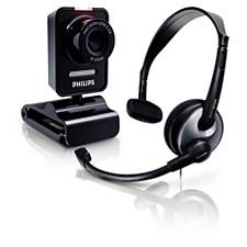 Webové kamery se sluchátky