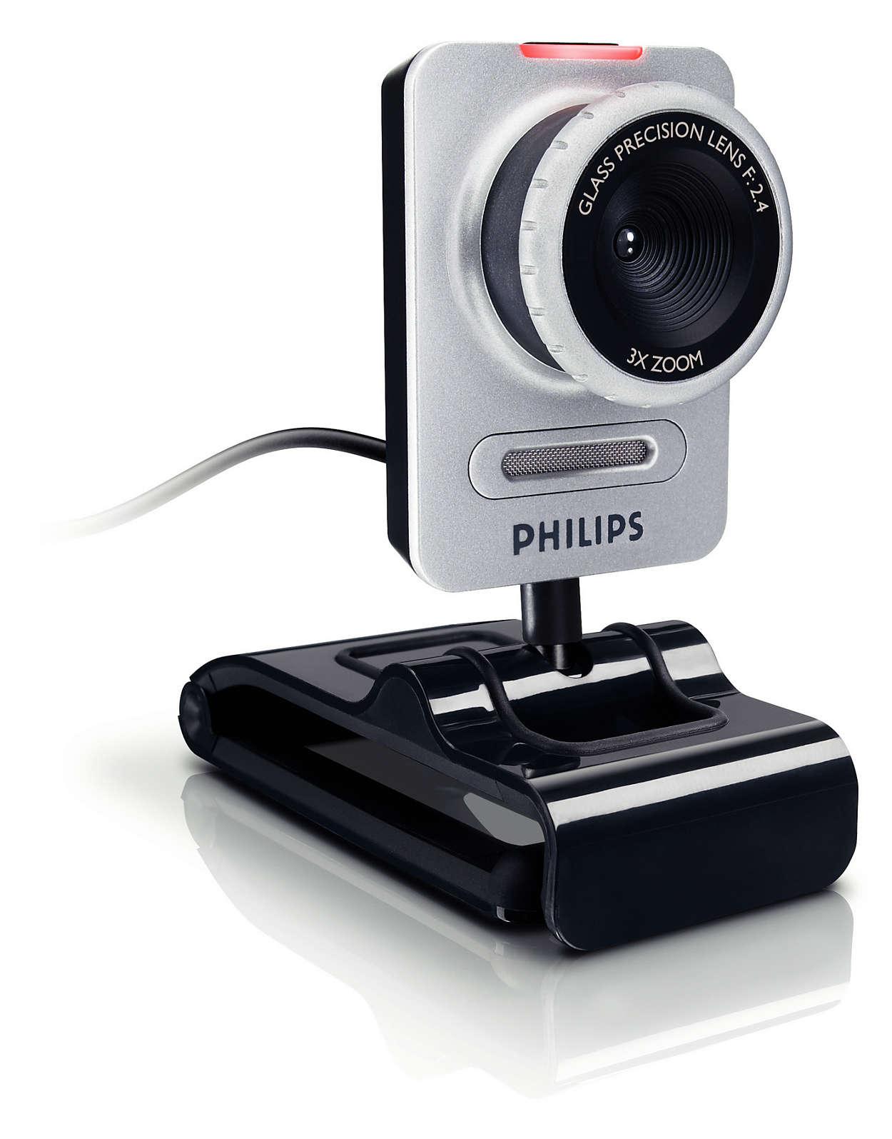 Morsomt web-kamera