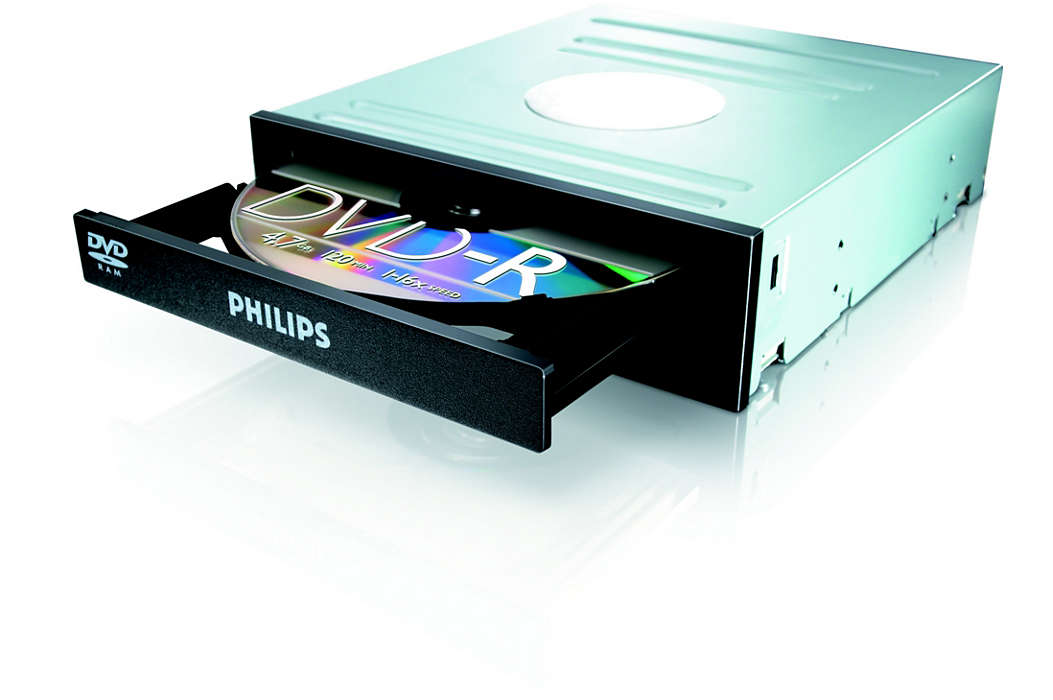 DVD, RAM en CD in één