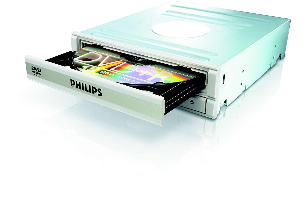 DVD, RAM a CD v jednom