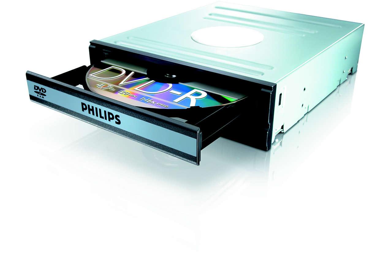 DVD, RAM en CD in één