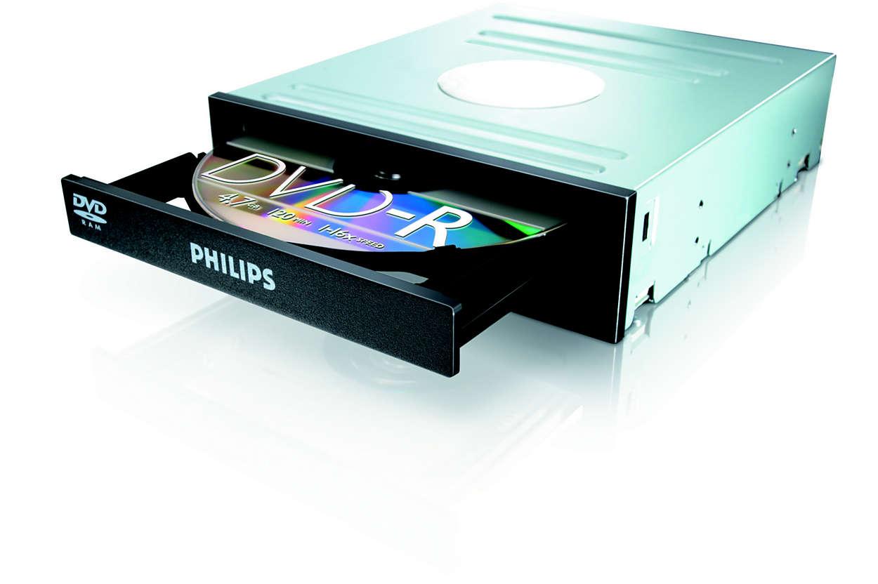 DVD, RAM og CD i ett