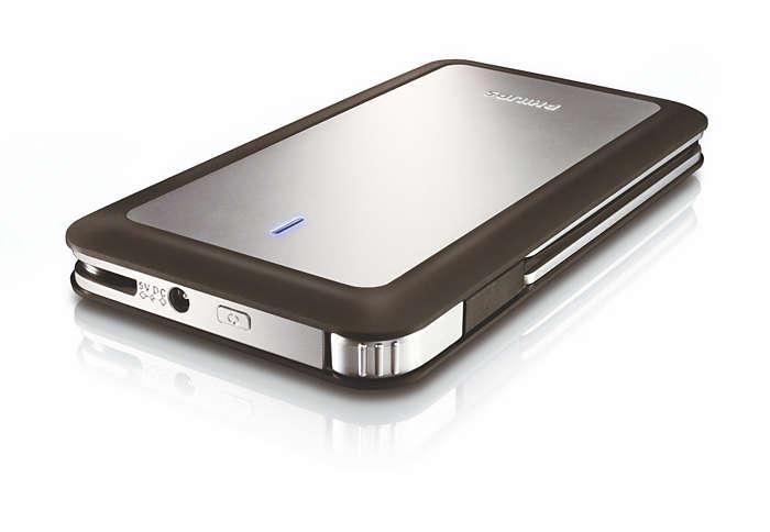 Shockproof portable storage