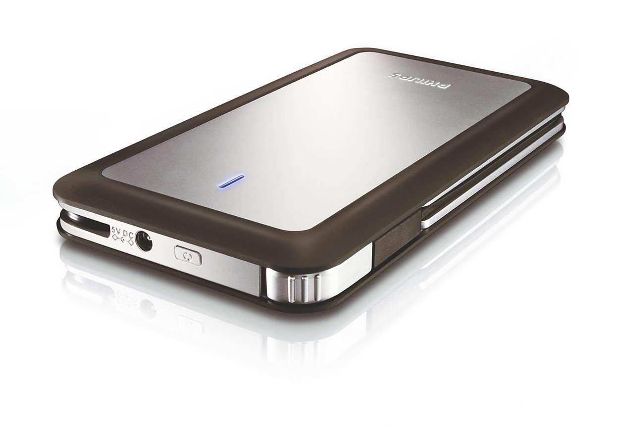 Darbe korumalı portatif depolama