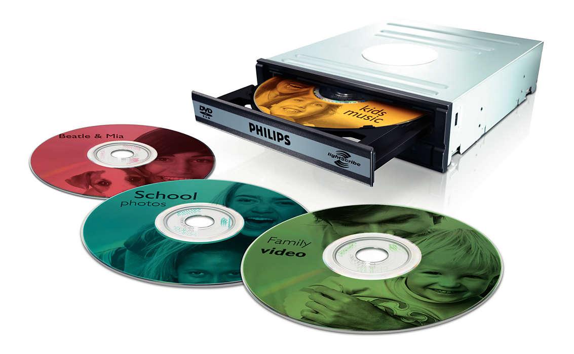 為您的 DVD 印上/寫上標籤