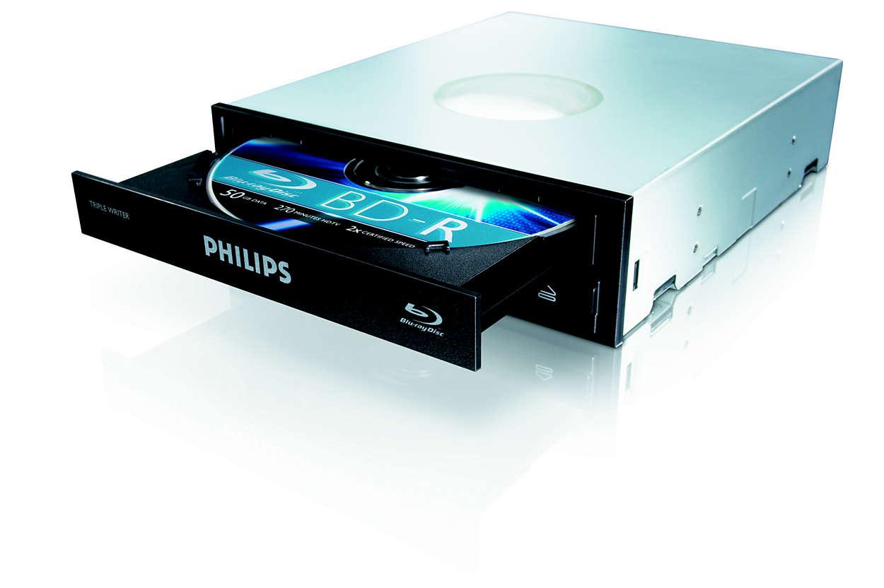 Unidade para discos Blu-ray