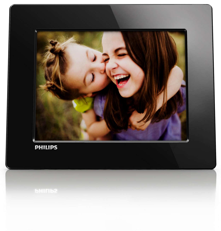 Digital PhotoFrame SPF1208/10 | Philips