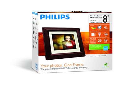 Home Essentials Digital Photoframe Spf3482g7 Philips