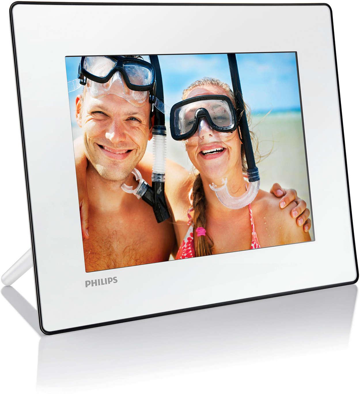 Digital PhotoFrame SPF4208/10 | Philips