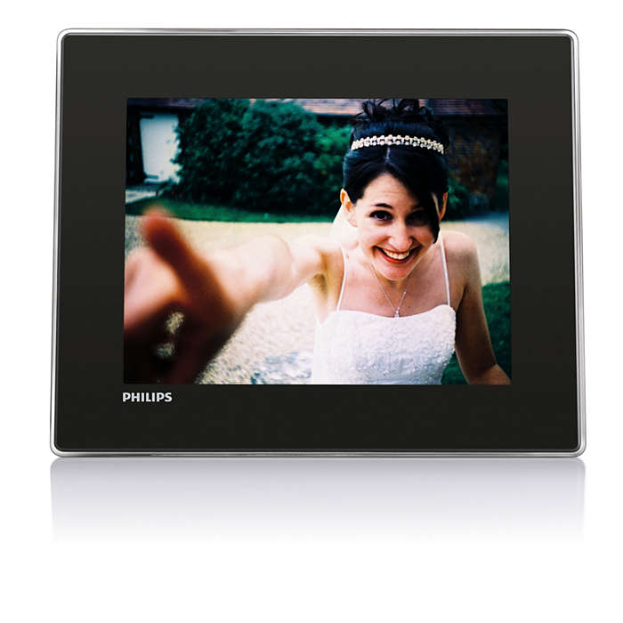 Digital PhotoFrame with Bluetooth SPF7008/05 | Philips