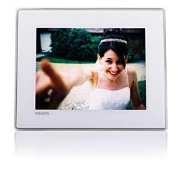 PhotoFrame digitale con Bluetooth