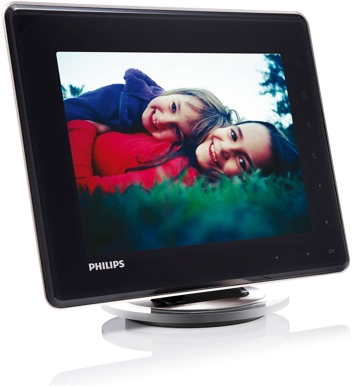 Digital PhotoFrame mit Akku SPH8008/10 | Philips