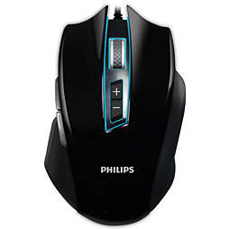 G400 Series Wired gaming mouse with haptic feedback