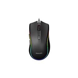 G400 Series עכבר משחקים קווי עם Ambiglow