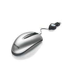 SPM1702SB/27  Mouse para notebook con cable