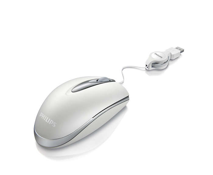 Przewodowa mysz do laptopa
