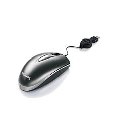 SPM1822BB/10  Ratón para portátil con cable