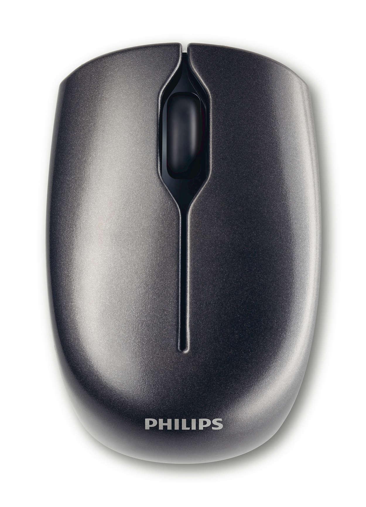 Ratón láser inalámbrico para portátil
