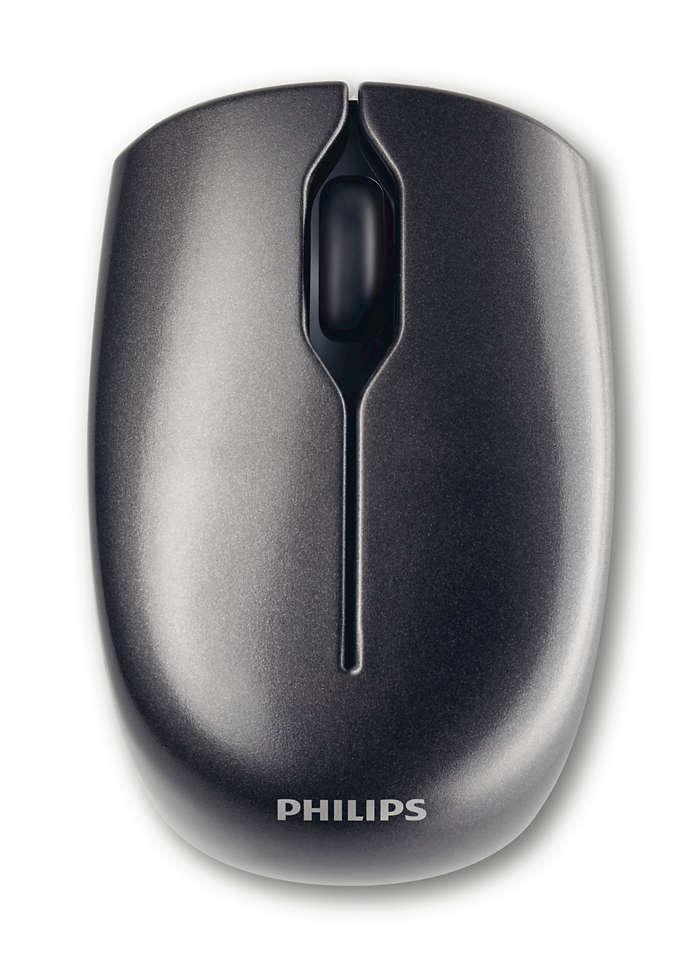 Bezprzewodowa mysz laserowa do laptopa