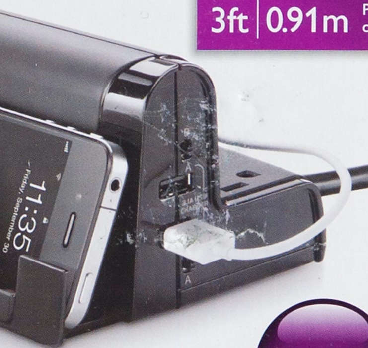 Dual USB charging station