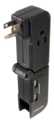 Philips 2 pack multiple outlet strips