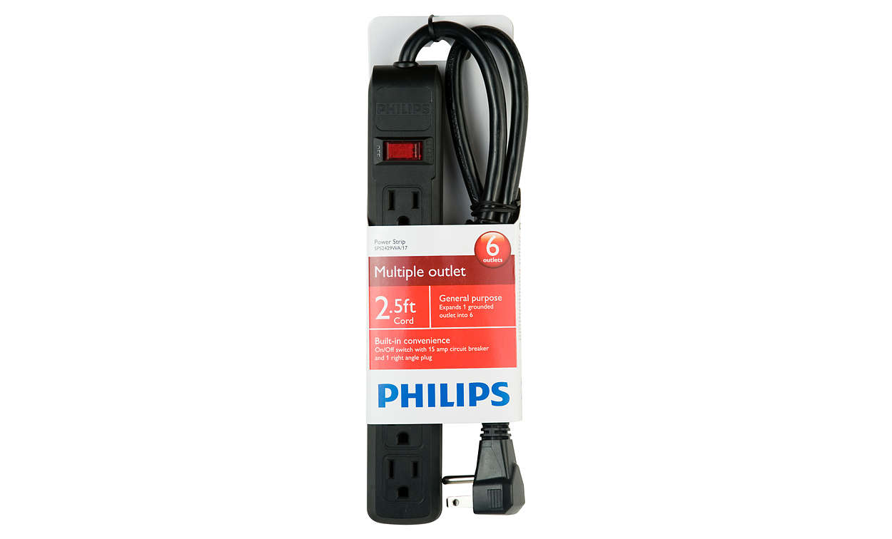Power Strip Sps2429wa 17 Philips