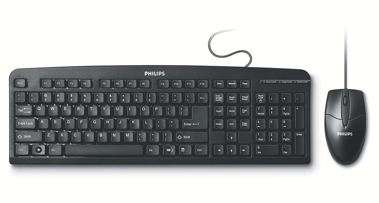 Wired desktop