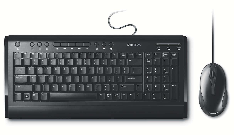 Wired multimedia desktop