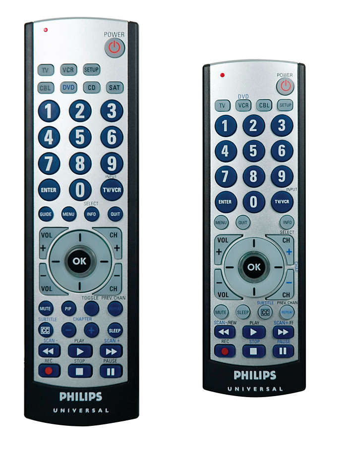 Value pack. Two remotes