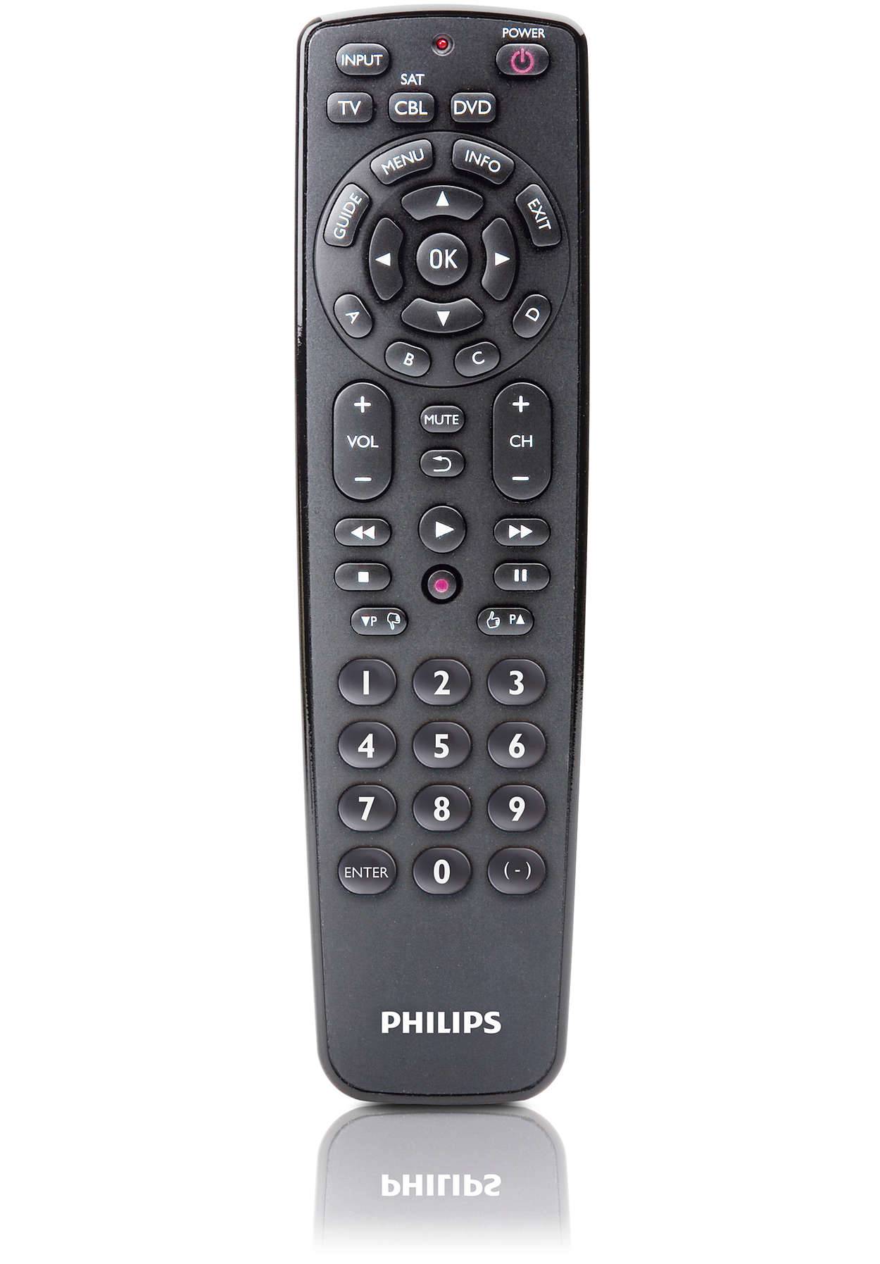 Universal Remote Control Srp2003wm 17 Philips