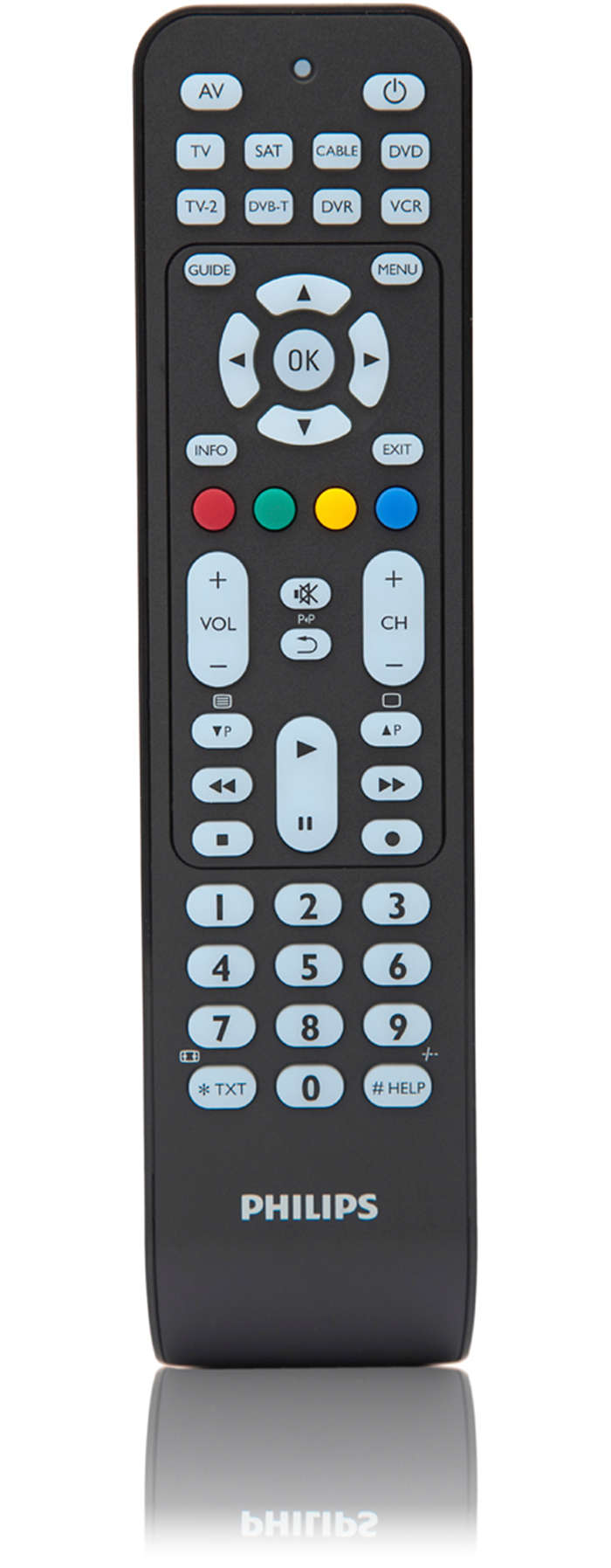 Lækker Perfect replacement Universal remote control SRP2008B/86 | Philips EH-59