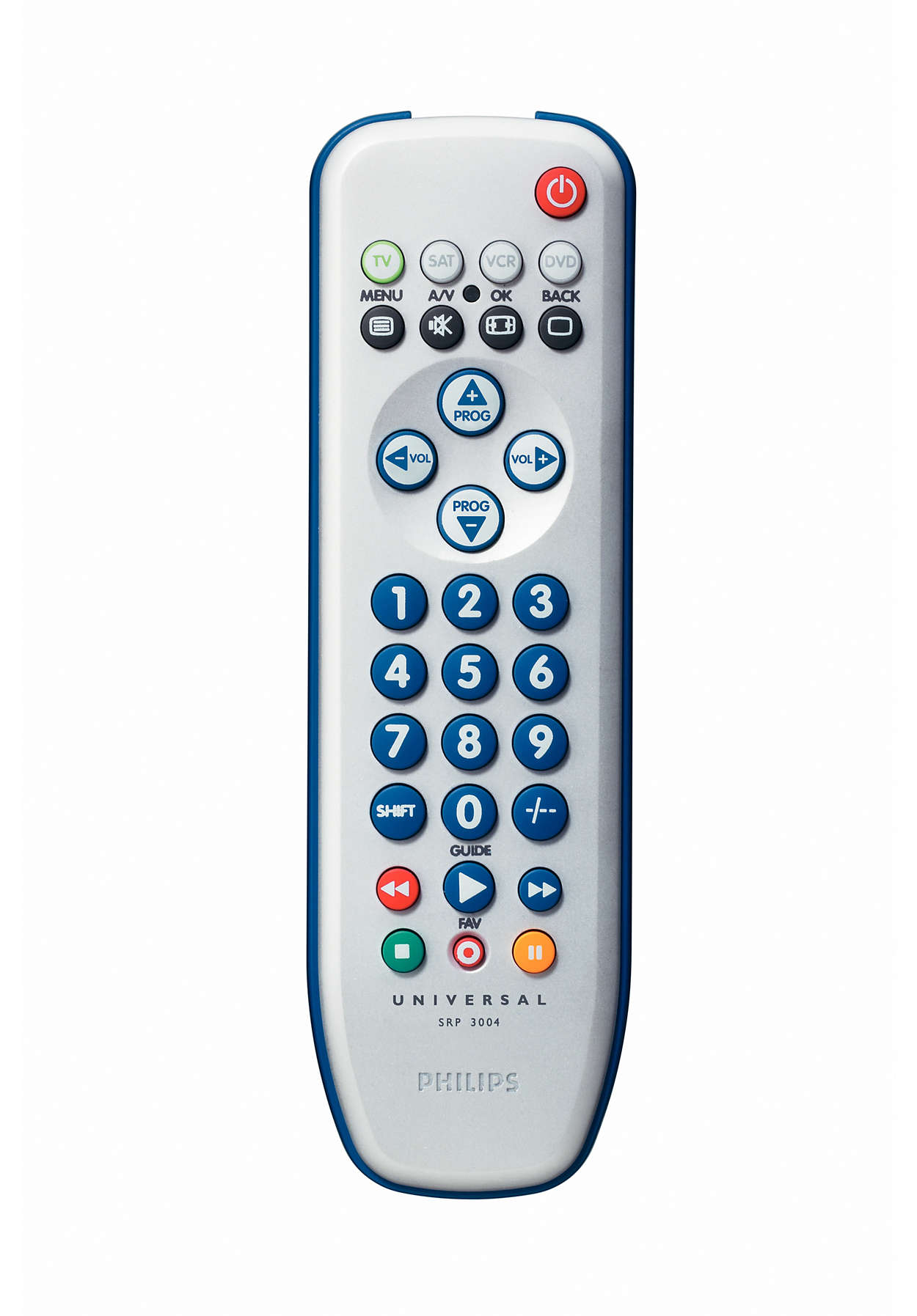Perfect replacement Universal remote control SRP3004/10 | Philips