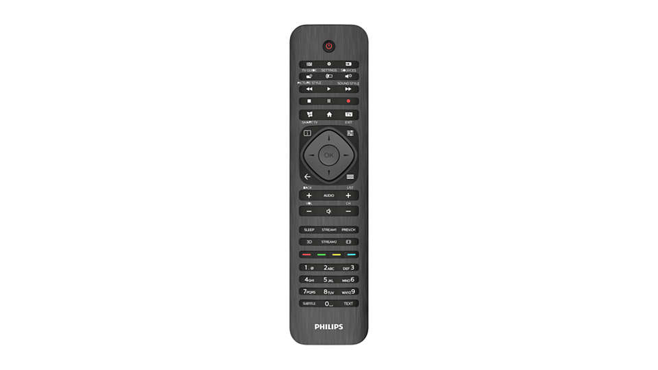 Replacing the PHILIPS TV remote