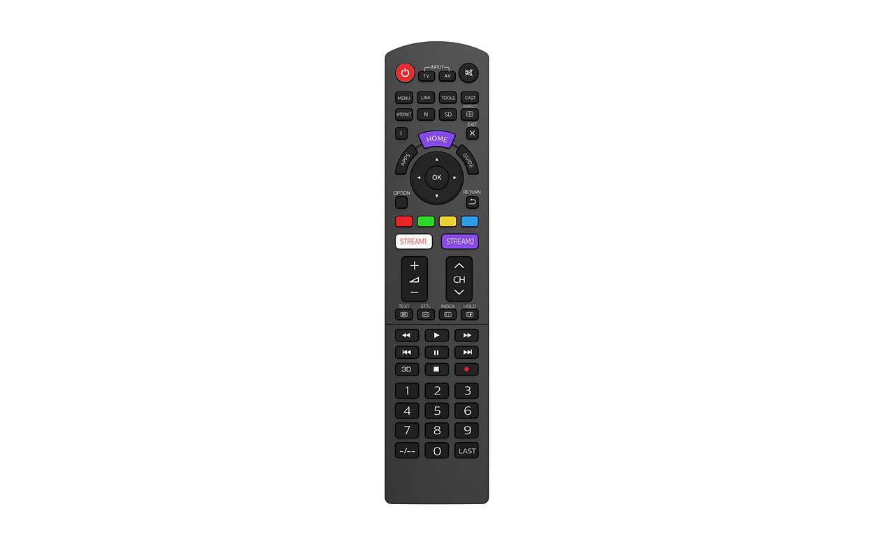 Austausch der PanasonicTV-Fernbedienung