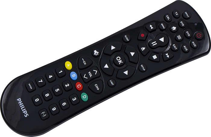 6 Device Universal Remote Control