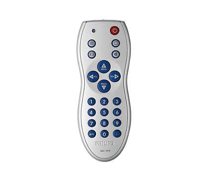 Быстрый доступ к кнопкам переключения каналов