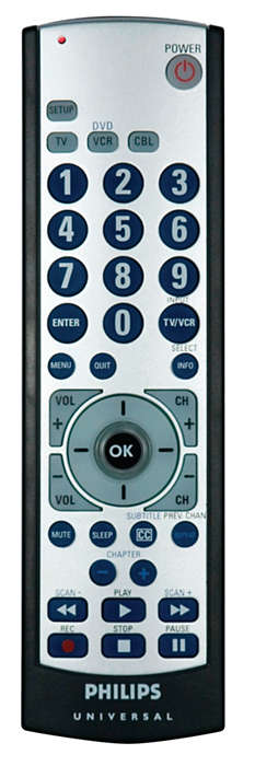 Idéale pour remplacer votre télécommande perdue ou endommagée
