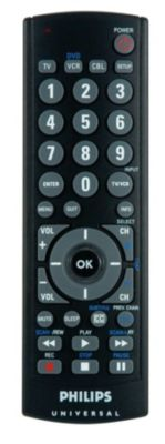 visit the support page for your universal remote control sru2103 27 rh usa philips com Philips Universal Remote Setup Codes Philips Universal Remote Code List