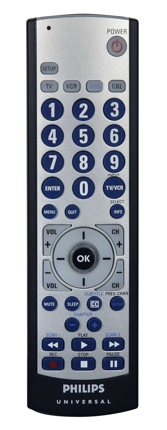 Ideal replacement for your lost or broken remote