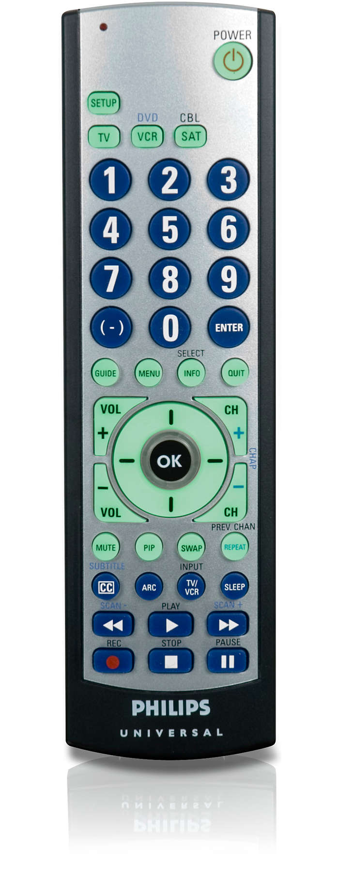 Perfect replacement for a lost or broken remote.