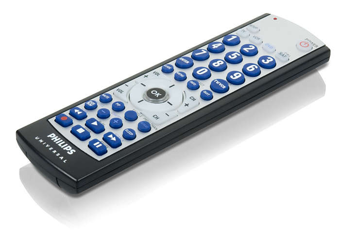 Replacement for a lost or broken remote