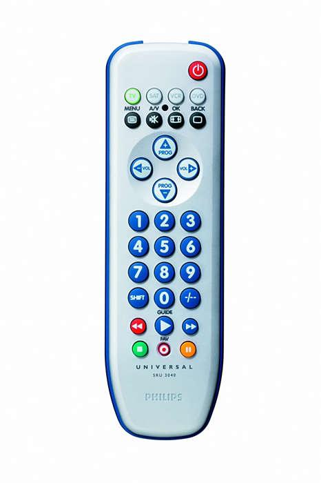 Télécommande de remplacement de qualité