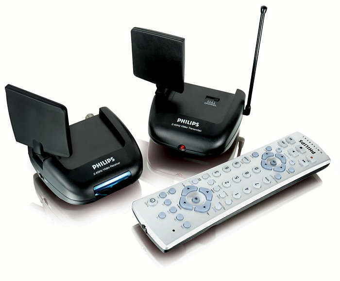 Send A/V signals wirelessly